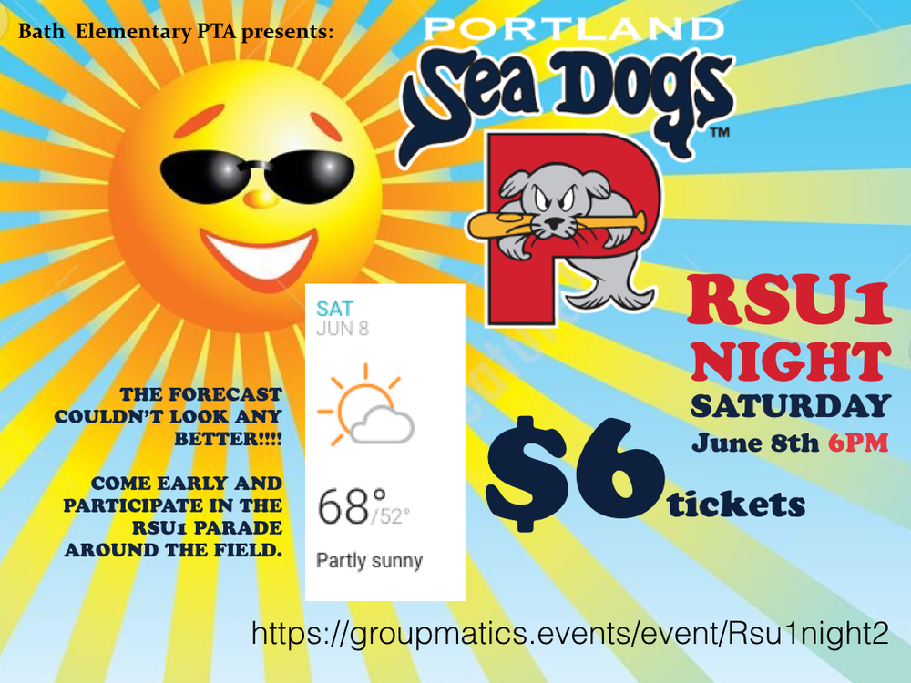 Portland Sea Dogs RSU1 Night