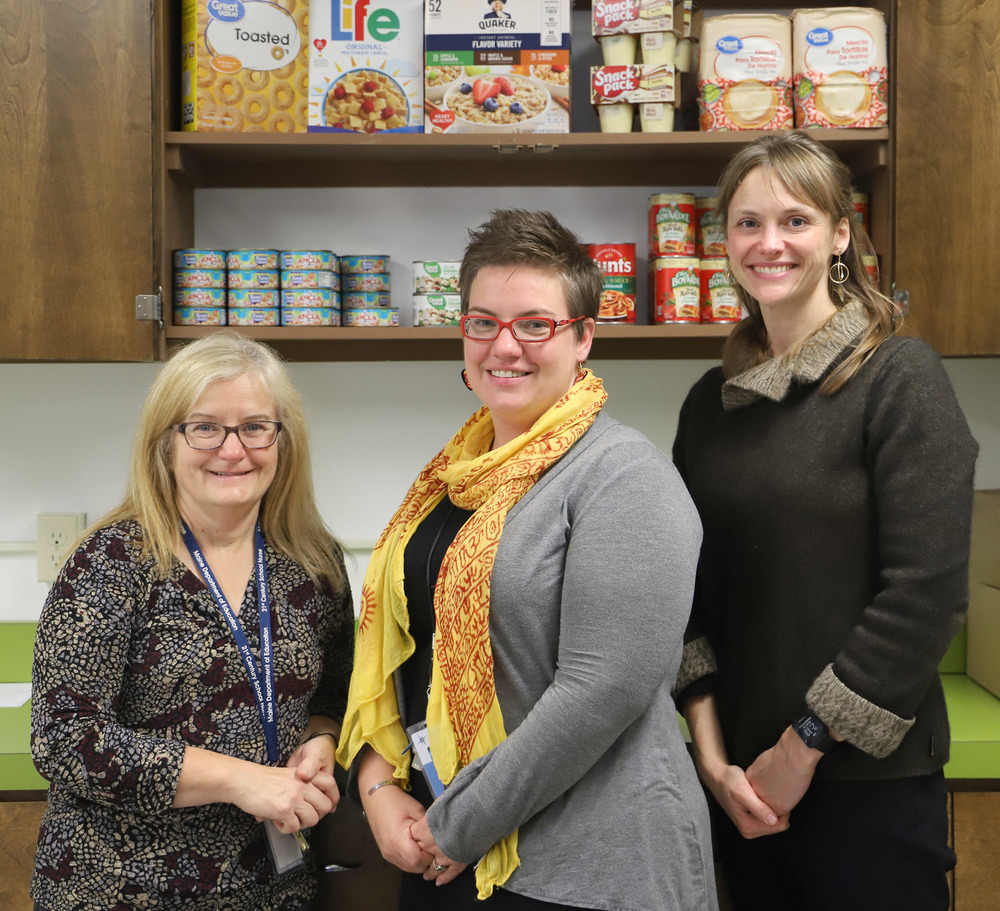 Fisher Mitchell School Launches School-Wide Food Pantry