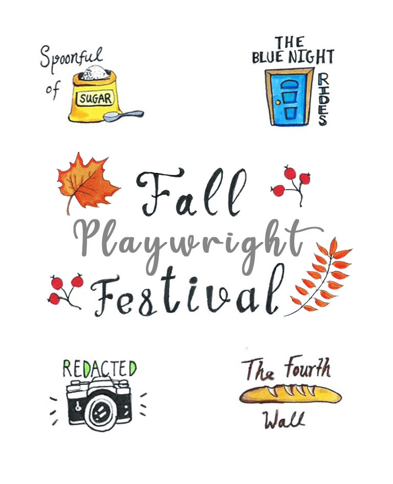 Fall Playwright Festival - Oct. 25 & 26