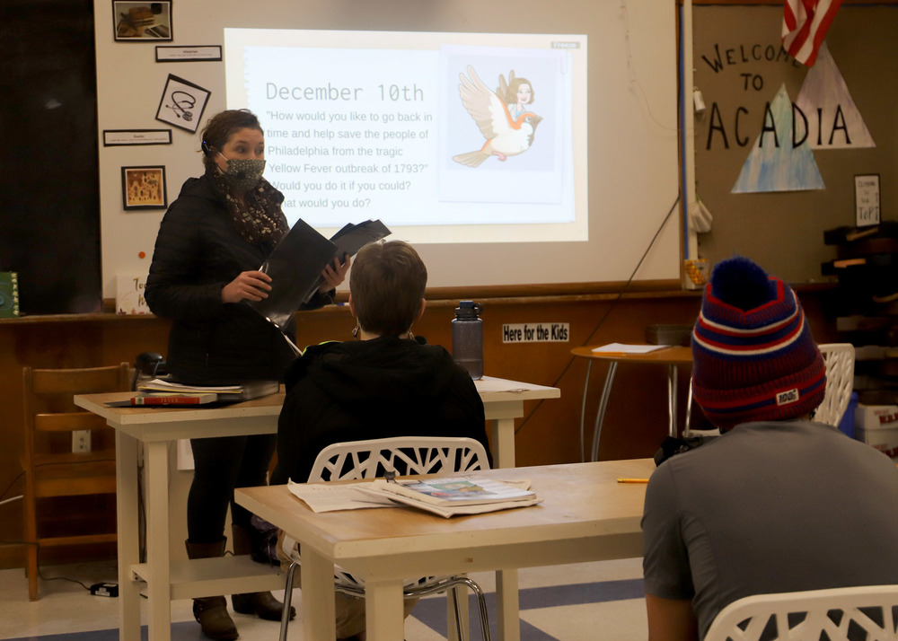 Bath Middle School Students Explore Epidemiology and its Impact on Culture and Community