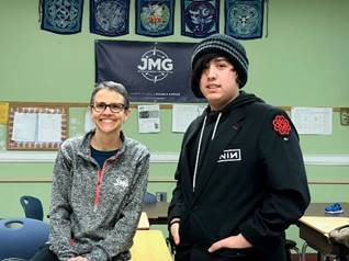 Success in JMG Program Prepares Morse Senior for Life After High School
