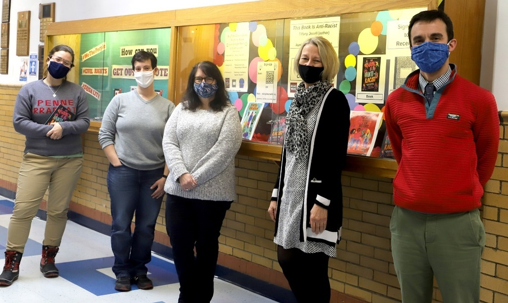 Morse High School Librarian Takes a Stand Against Racism