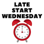 Late Start Wednesdays Reminder