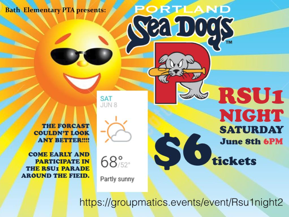 RSU1 / Sea Dogs Night June 8th - Get your tickets now!