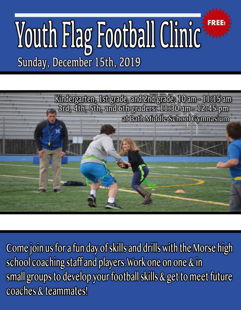Youth Flag Football Camp