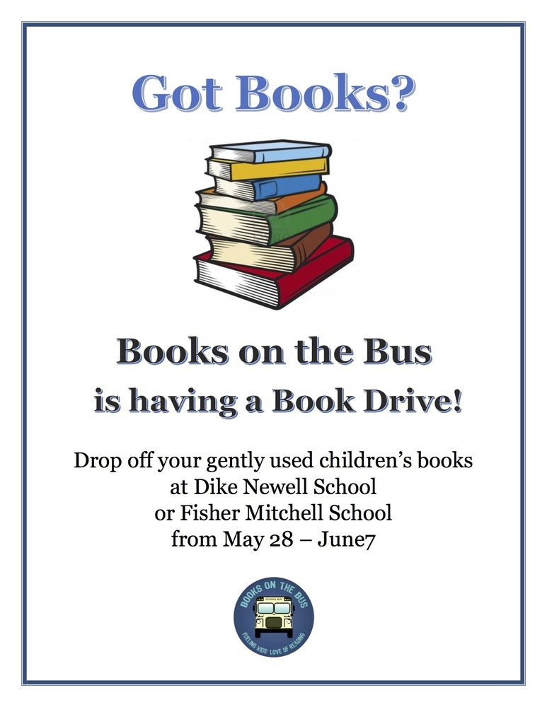 Books on the Bus Book Drive