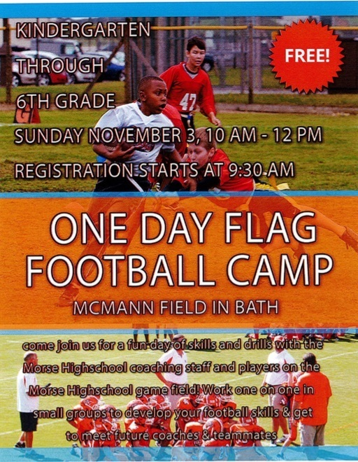Flag Football Camp