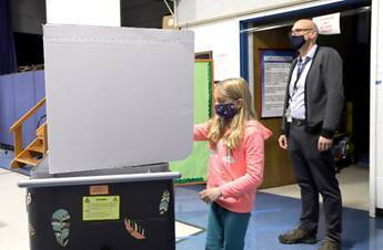 "Fisher Mitchell School Holds Mock Election to Determine the ""Best Thing About Maine"""