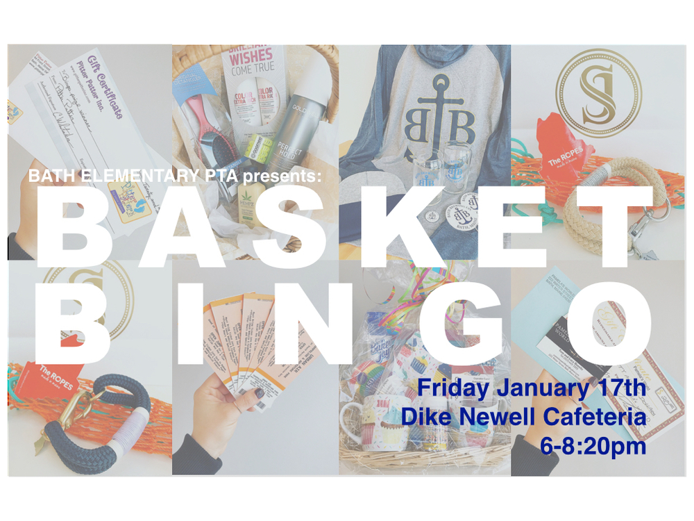PTA's Basket Bingo Coming Soon!