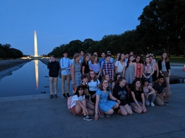 Woolwich Wildcats visiting Washington, D.C.