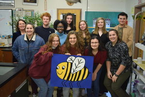 Bath students get buzzed about bees!
