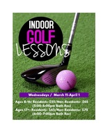 Indoor Gold Lessons