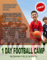 1 DAY FOOTBALL CAMP