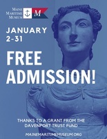 Free January Admission at Maine Maritime Museum