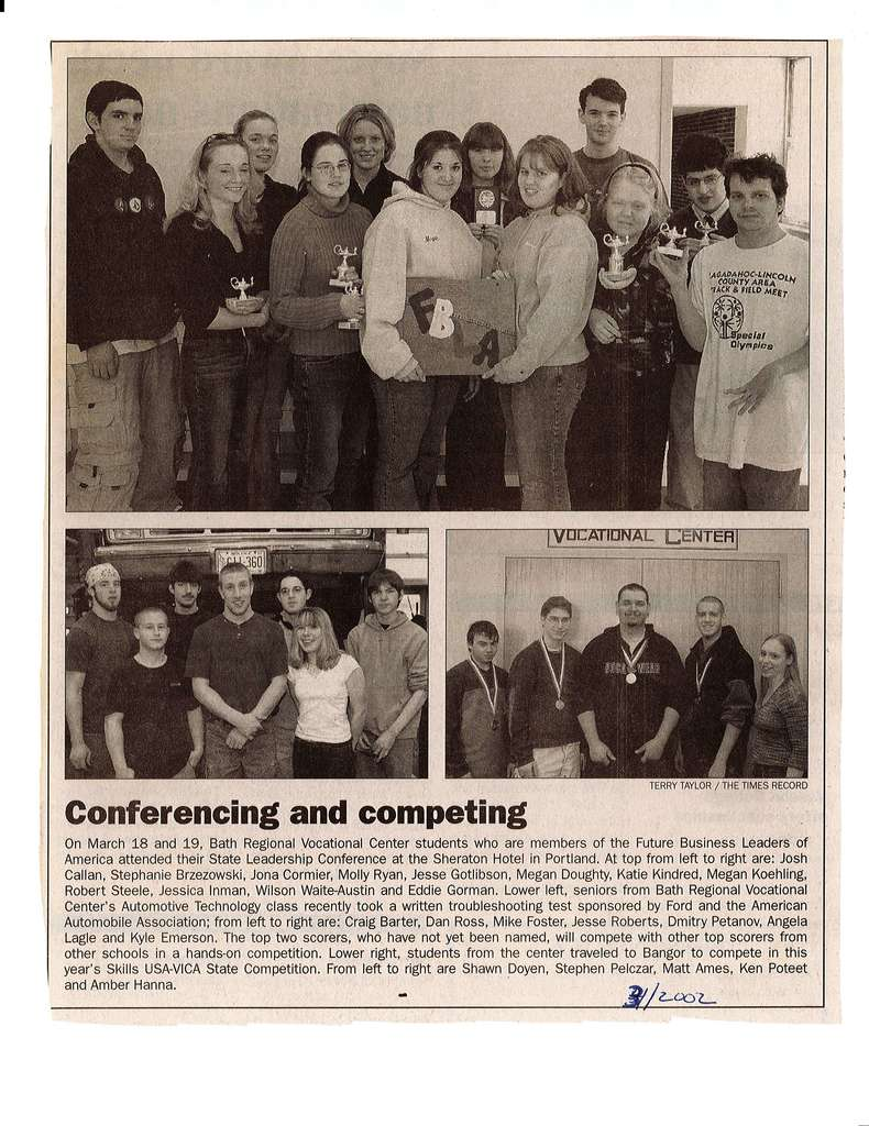 2002 students in competition