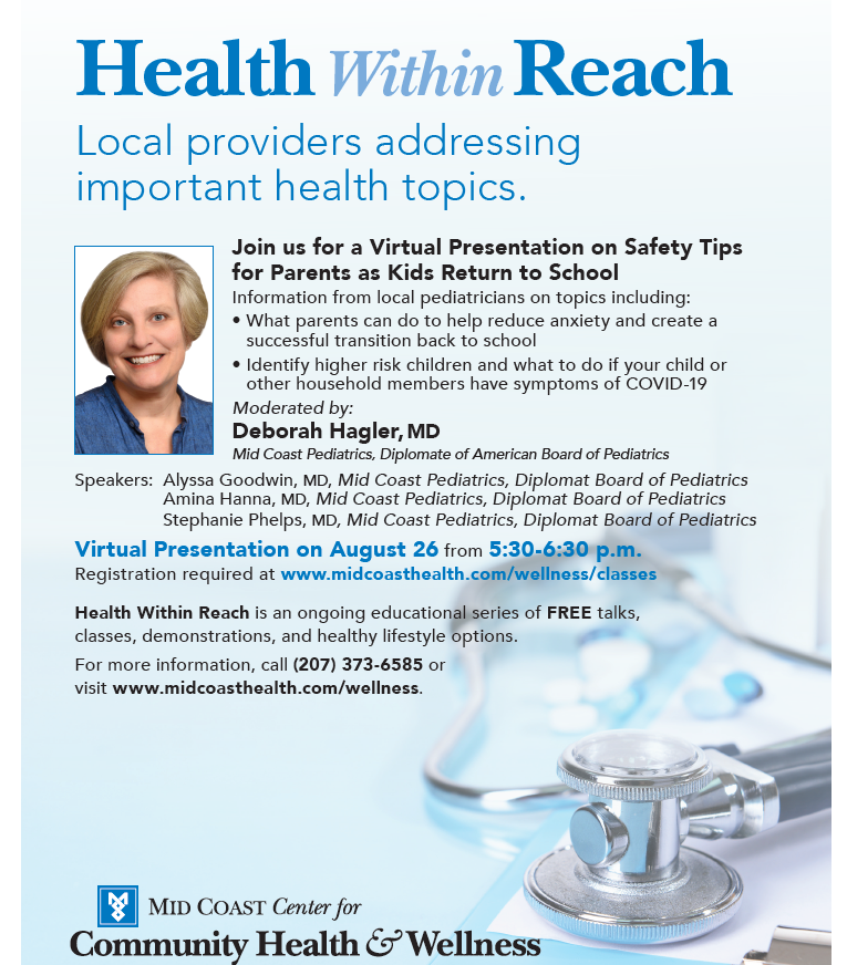 Flyer for Health WIthin Reach Presentation