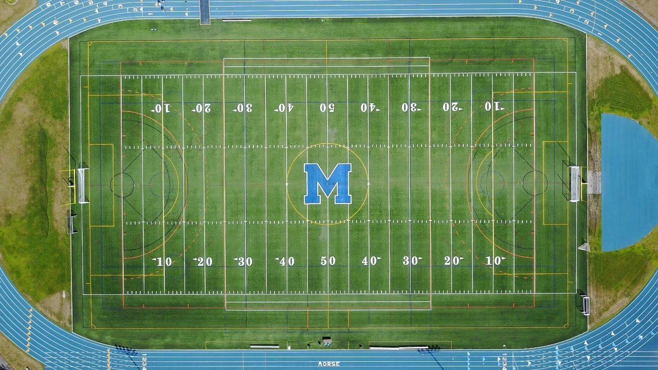 Aerial View of McMann Field