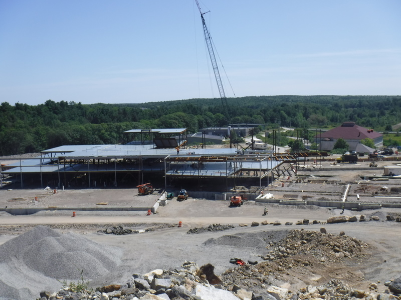 Construction Progress at the New Morse High School/BRCTC